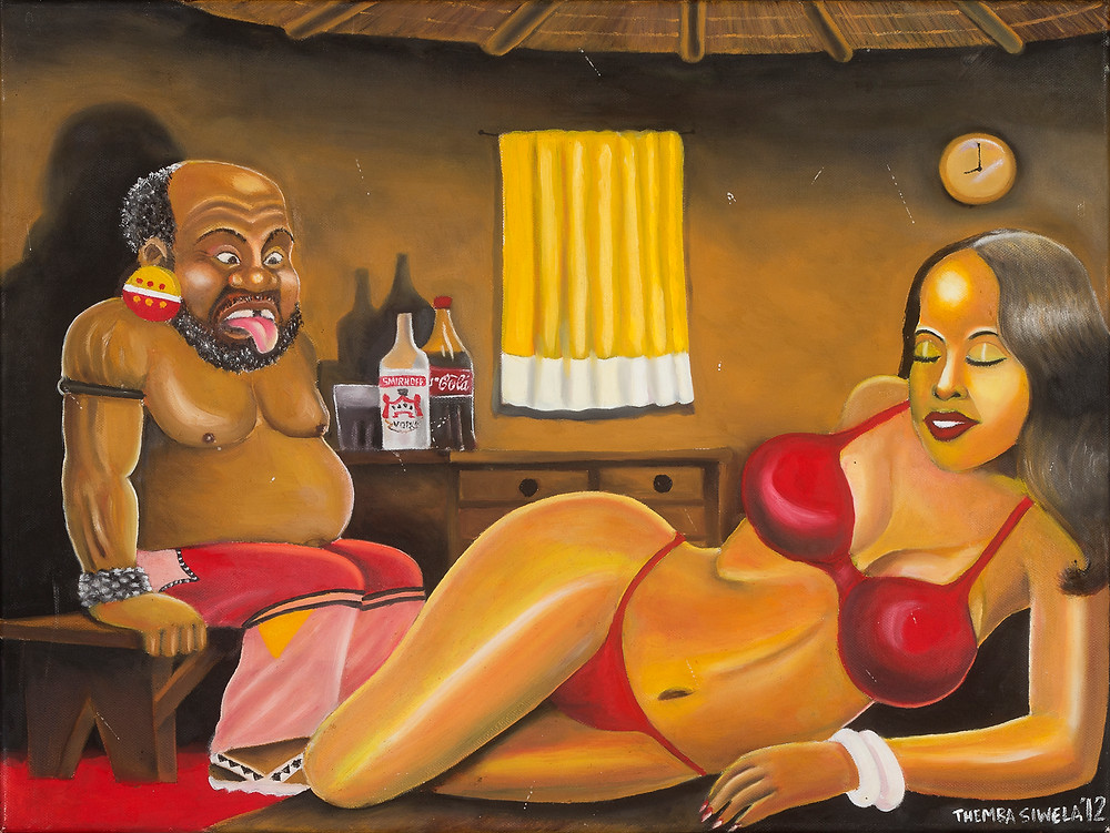 Themba Siwela's Temptations on Madala's Pension