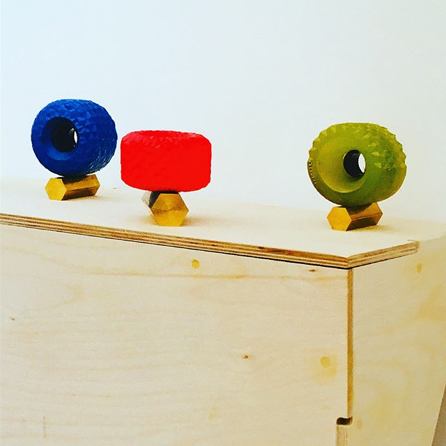 __paul_edmunds abstract sculptures from his 2013 exhibition _stevenson_za read as an ode to skateboarding in a way