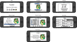 Toadled Wireframes