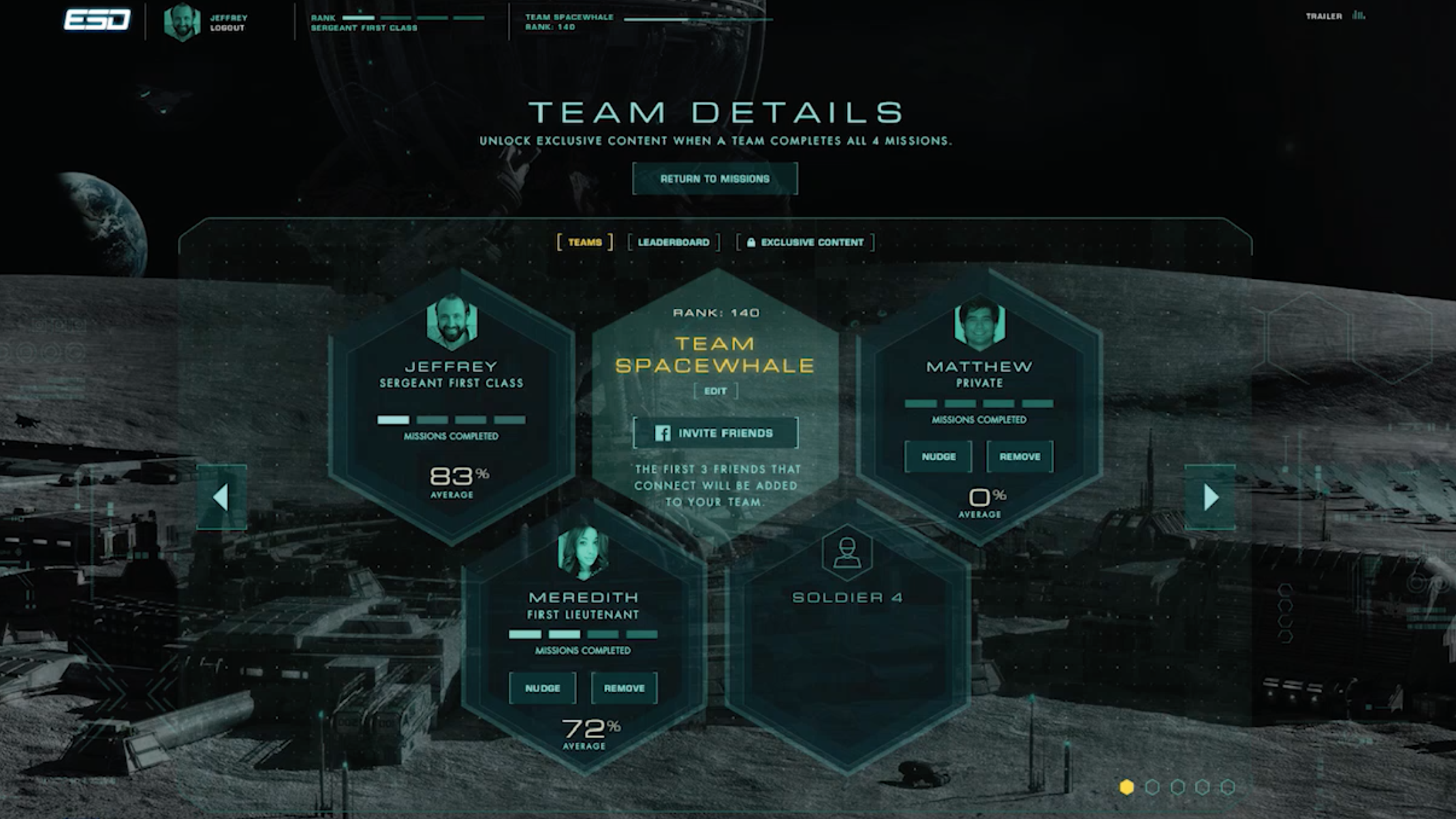 Social Team Challenge