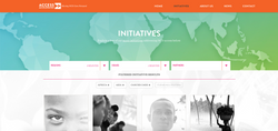 Initiative List Page Screenshot