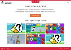 Redesigned Gamester Website