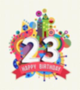 52426072-buon-compleanno-ventitre-23-ann