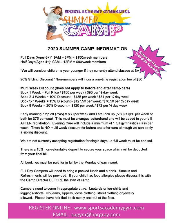 2020 SUMMER CAMP INFORMATION revised_Pag