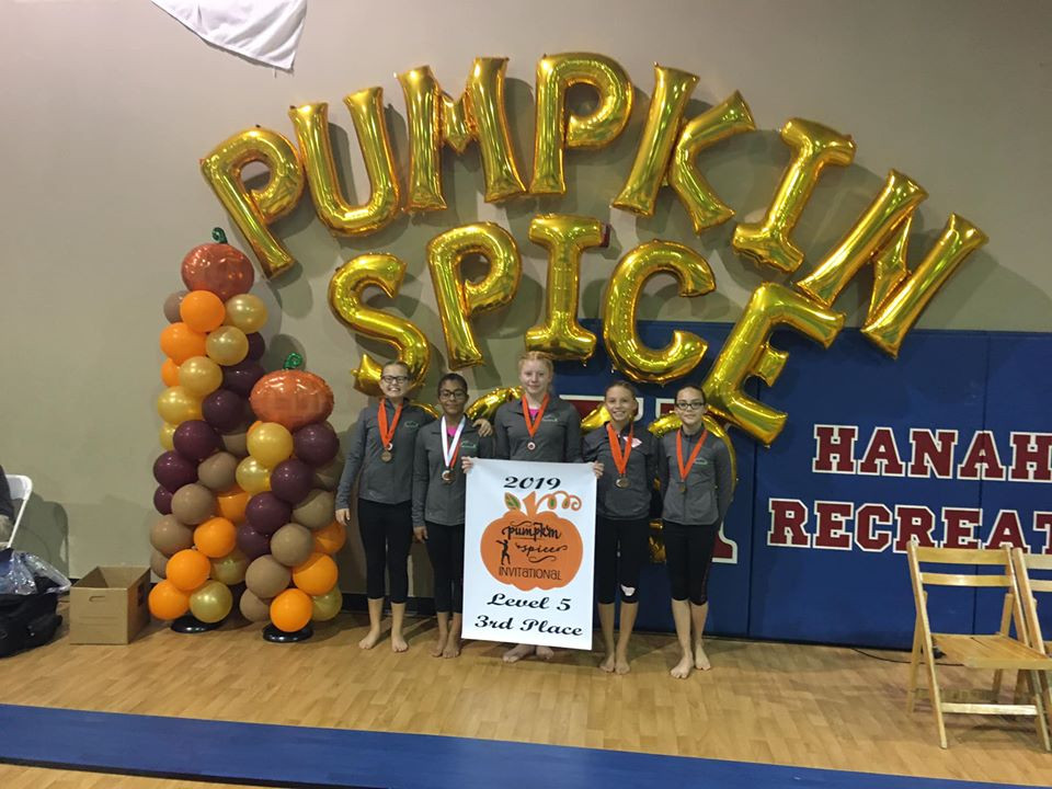 Level 5 Team Pumpkin Spice