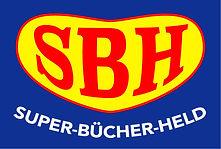 Logo Super-Bücher-Held in Overath