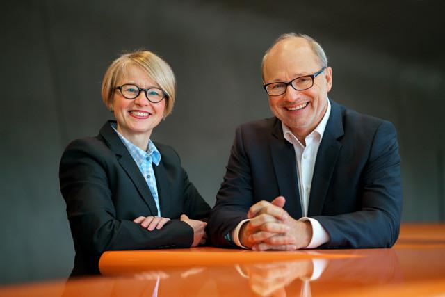 Iris Keller und Jörg Winter