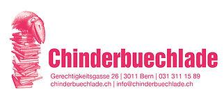 Logo der Buchhandlung Chinderbuechlade in Bern