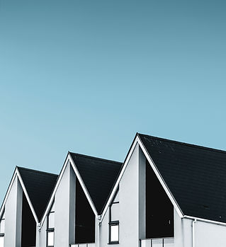 다크 지붕 주택 단지