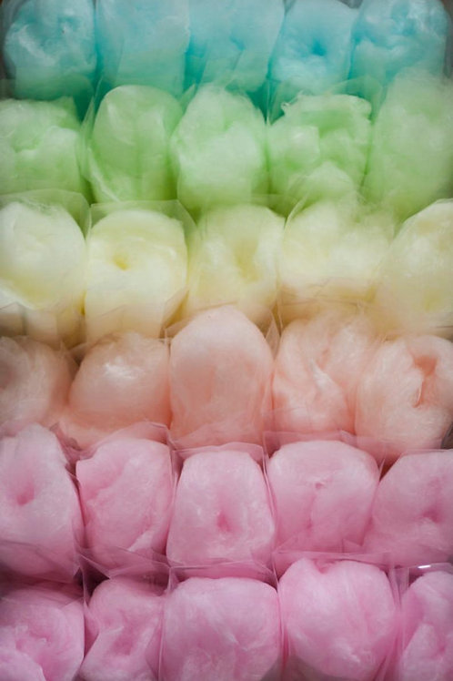 Small Takeaway Cotton Candy