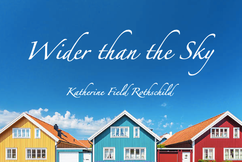 What I Learned About Writing Titles and Title Reveal: WIDER THAN THE SKY
