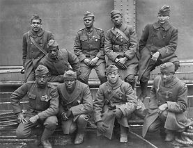 African American WW1 heroes with French