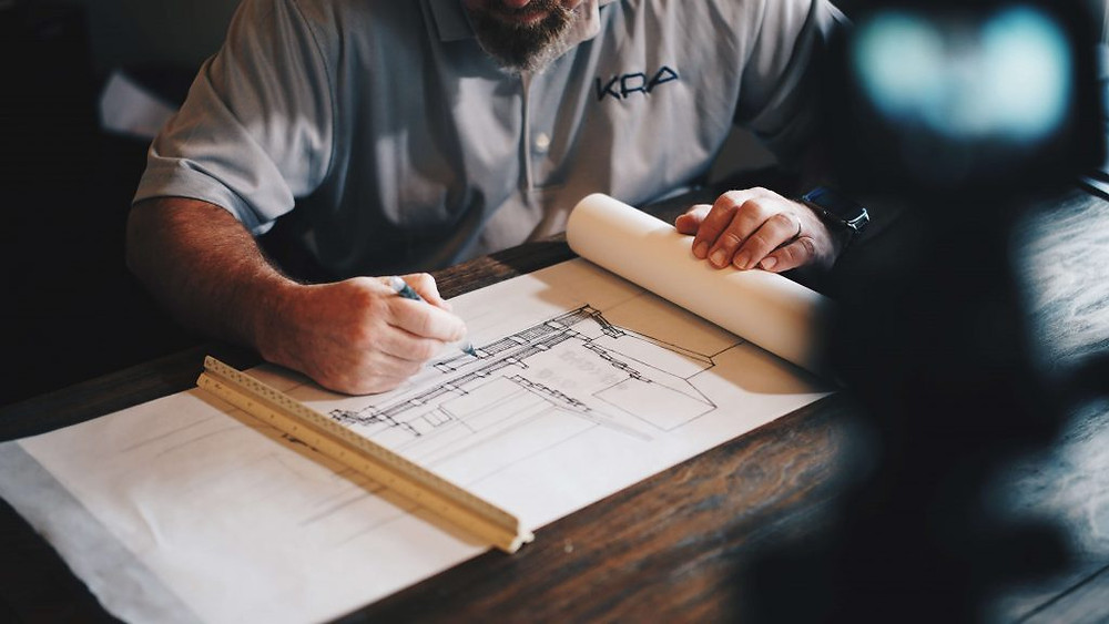 The planning process for a new house by Saxony Building