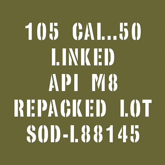 50 CAL REPACKED AMMO BOX
