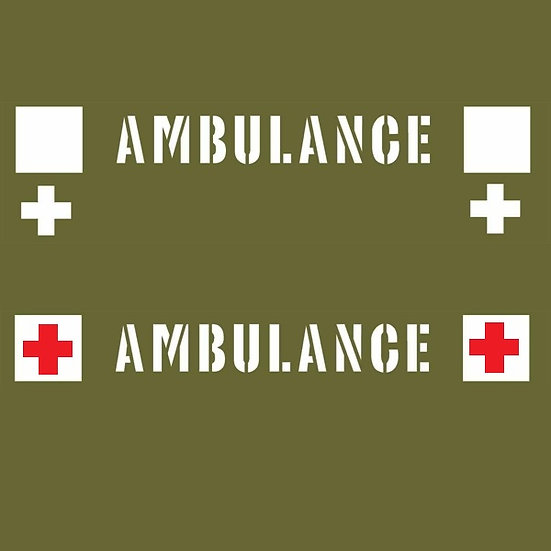 AMBULANCE WINDSCREEN