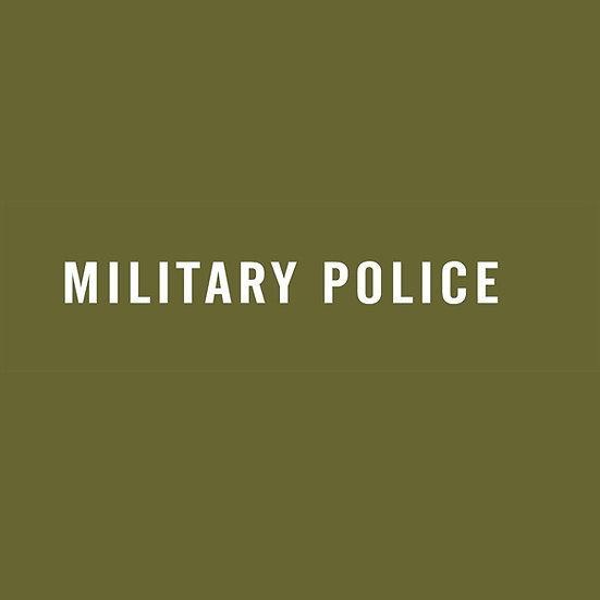 MILITARY POLICE STENCIL