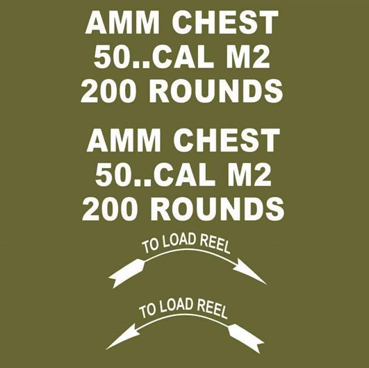 50 CAL AMMO BOX 200 ROUNDS