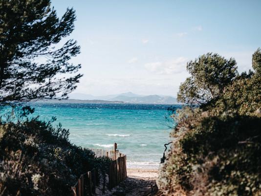 Escapade sur l'île bleue de Porquerolles
