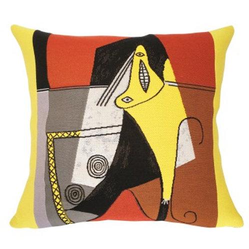 Coussin Femme dans un fauteuil 1927 - Picasso - Jules Pansu