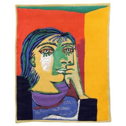 Tapisserie Dora Maar - Picasso - Jules Pansu
