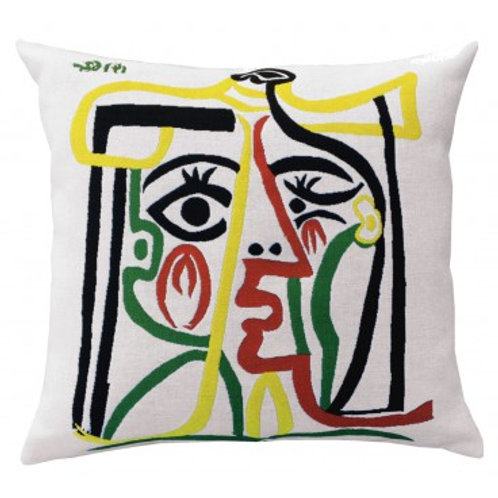 Coussin Head of the woman 1962, 60cm - Picasso - Jules Pansu