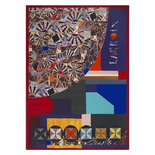 Plaid Mosaic Freak multicolore - Designers Guild