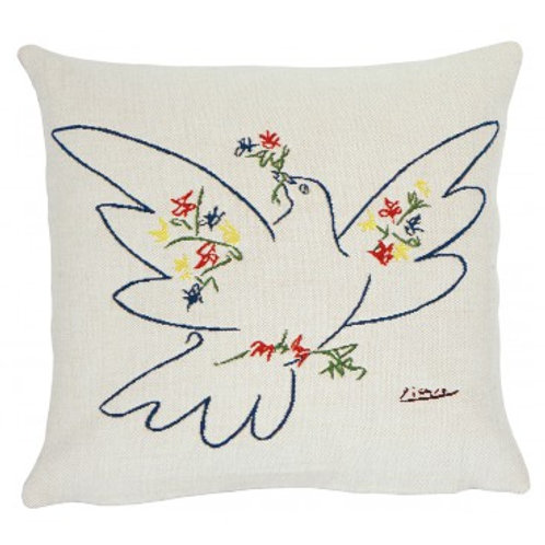 Coussin Colombe festival - Picasso - Jules Pansu