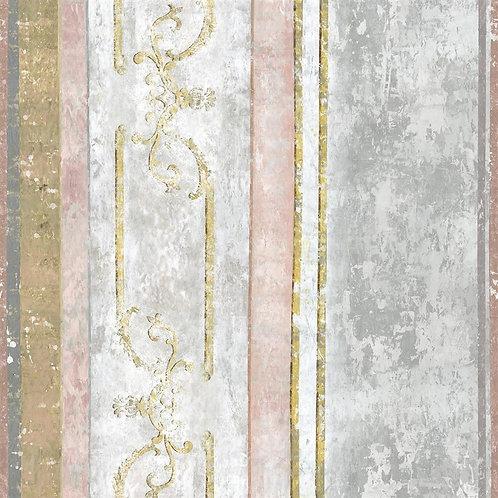 Papier peint Foscari Fresco scène 1 Tuberose - Designer Guild