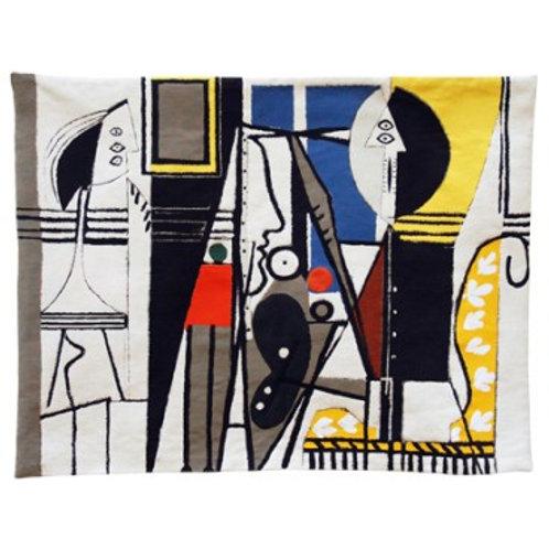 Tapisserie Le peintre et son modèle - Picasso - Jules Pansu