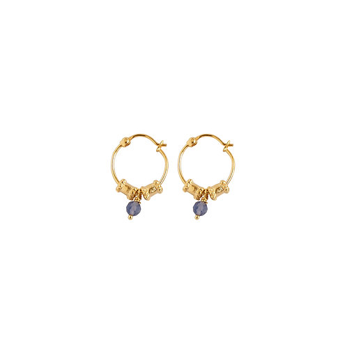 Petites boucles d'oreilles Esmeralda  - Alix D. Reynis