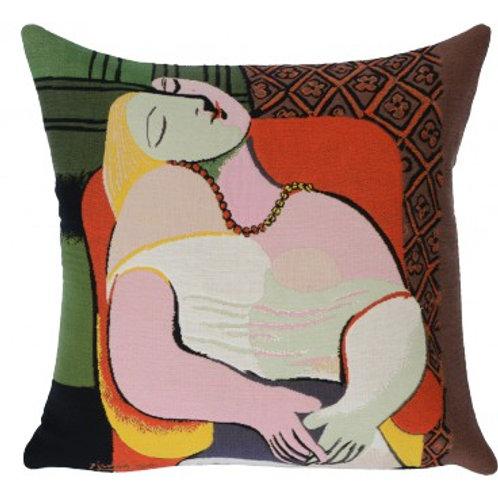 Coussin Le rêve 1932, 45cm - Picasso - Jules Pansu