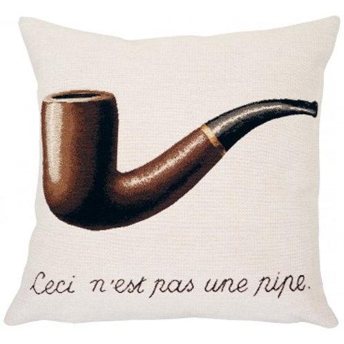 Coussin La trahison des images 1929 - Magritte - Jules Pansu