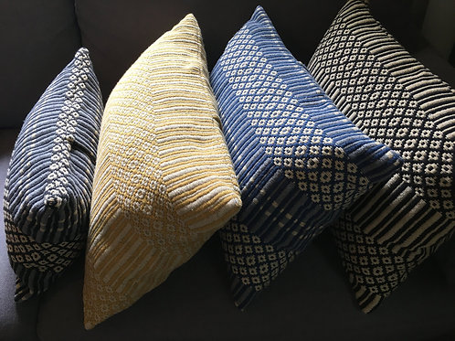 Coussin coton tissé 30x50 cm - QuaiTejo