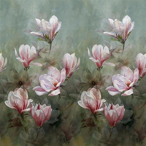 Papier peint Yulan Magnolia - Designers Guilds
