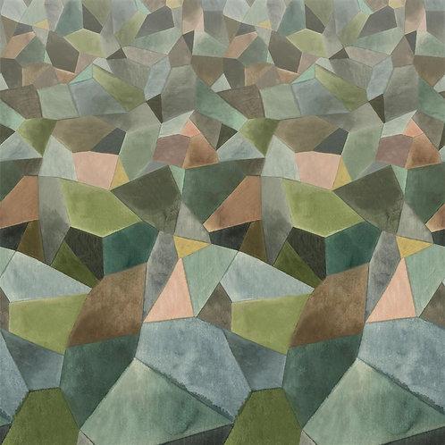 Papier peint Geo Moderne Jade - Designers Guild