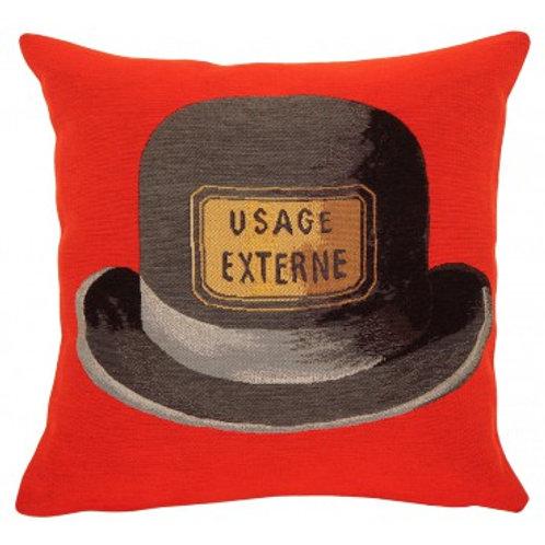 Coussin Le bouchon d'épouvante 1966 - Magritte - Jules Pansu