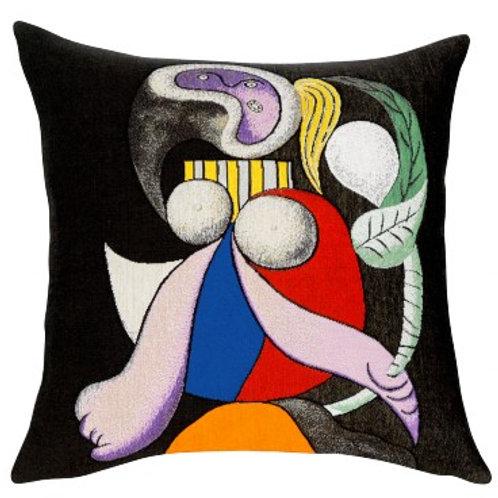 Coussin Femme à la fleur 1932 - Picasso - Jules Pansu