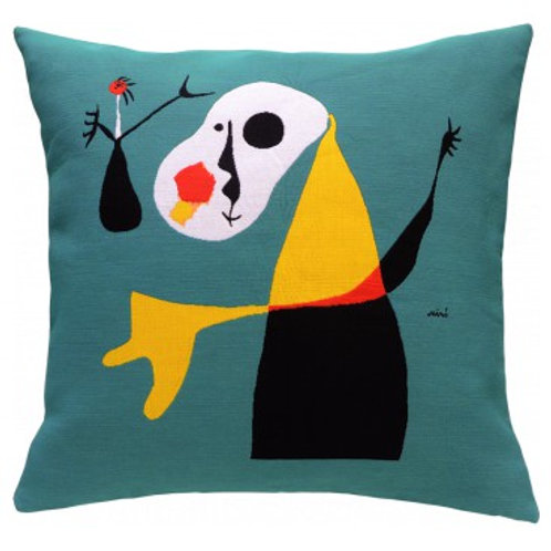 Coussin Personnage 1937 - Miro - Jules Pansu