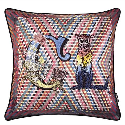 Coussin Monogram me Lacroix ! Multicolore - Designers Guild