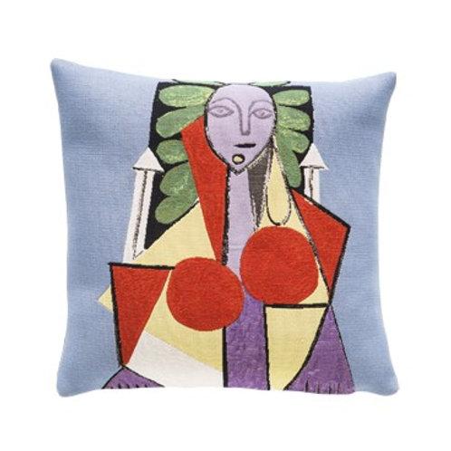 Coussin Femme dans un fauteuil 1946 - Picasso - Jules Pansu