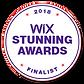 Wix Stunning Awards Fnalist 2018
