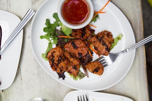 Bourbon Chicken (Starter)