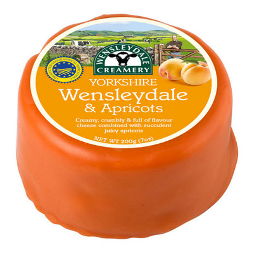 Wensleydale and Apricot 200g