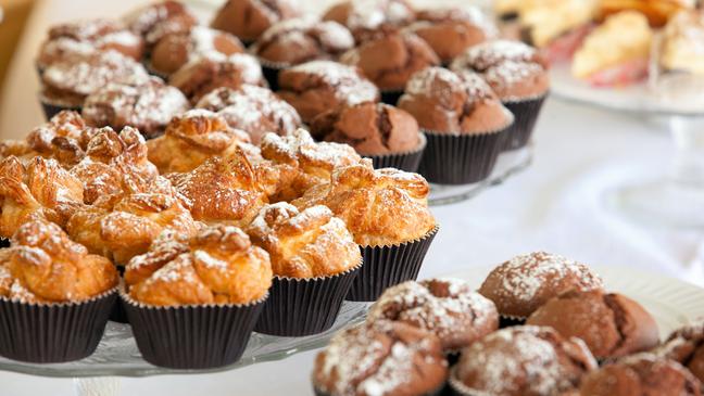 Muffins für Kuchenbuffet