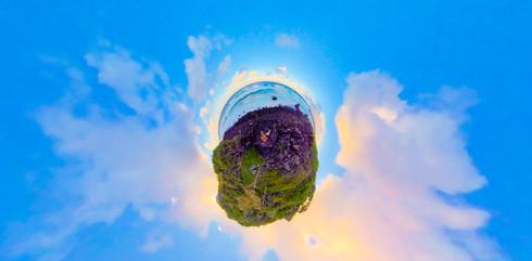 TINY PLANET Burleigh Rocks.jpg