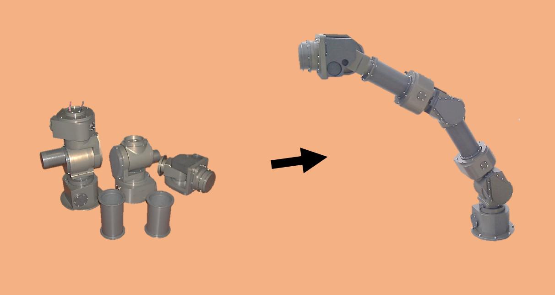 Underwater Modular Arm