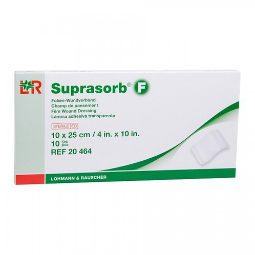 Suprasorb F Film Wound Dressing 10x25cm (4x10in) 2 pcs