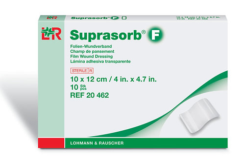 Suprasorb F Film Wound Dressing 10x12cm (4x4.7in) 2 pcs