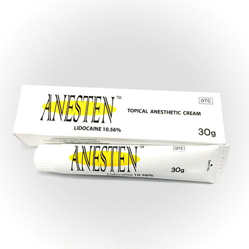 ANESTEN CREAM 3 tubes 30g Lidocaine Numbing Cream