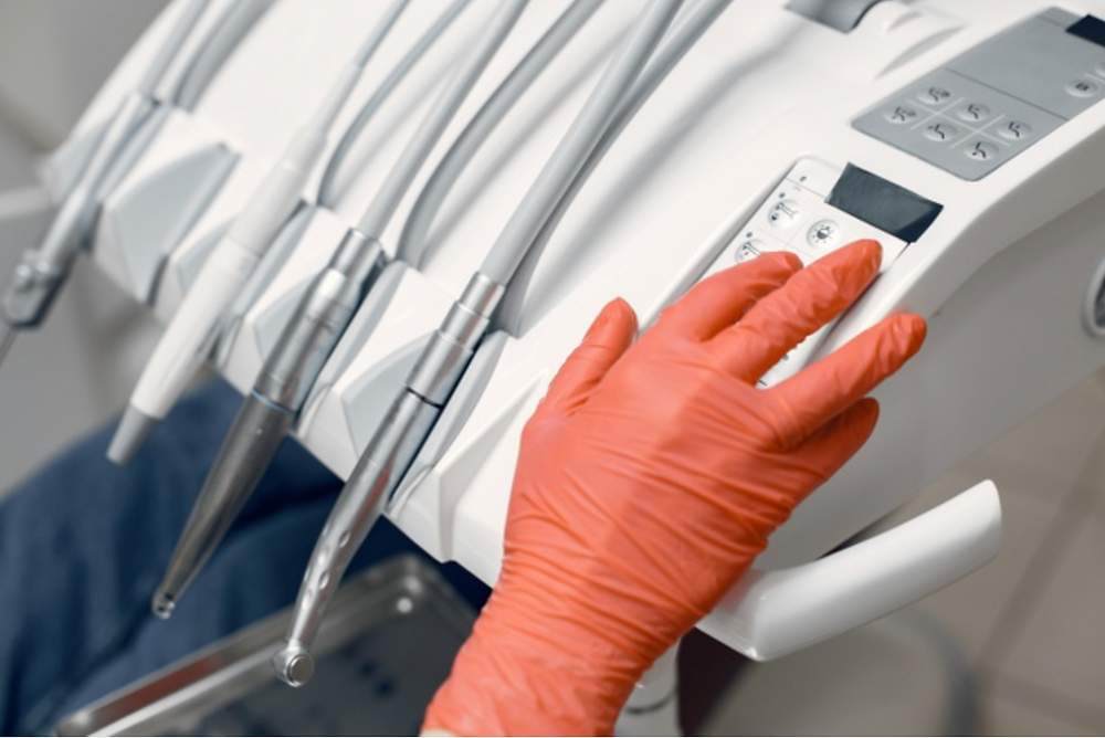 rukavice, zubař, stomatologie